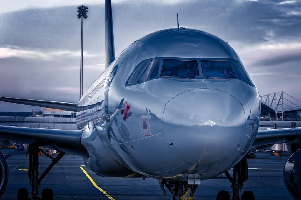 aircraft, flyer, passenger aircraft